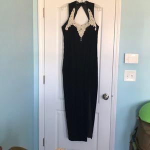 1001 Fashion Nights Velvet gown
